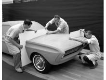 Q1_Special-Falcon_1962-Ford-Styling-Center-clay-modeling