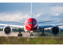 Boeing 787 Dreamliner. Photo: Jørgen Syversen