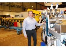 Lars Reinholdz, Sales Manager, Mastec.