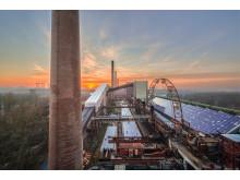 UNESCO Weltkulturerbe Zollverein - Kokerei - Eislaufbahn