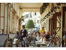 Populære Liston på Korfu