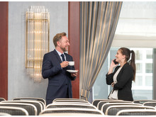 Entspannte Business-Atmosphäre im Maritim Hotel Berlin