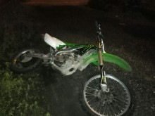 Scrambler bike recovered from Huyton