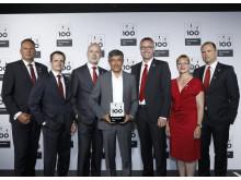 Verleihung Top 100 Auszeichnung