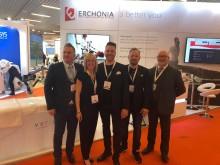 Team Nordic, med Simon Ramshaw som driver Europa verksamheten till vänster.
