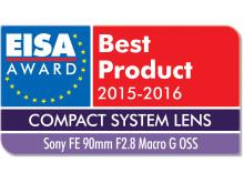 Sony firar sexfaldiga utmärkelser vid EISA 2015