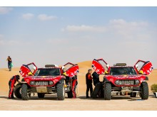 Dakar Rally, Saudi Arabia, MINI JCW Buggy, Carlos Sainz, Stéphane Peterhansel