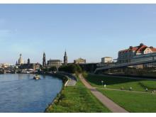 Direkt am Elbufer: Das Maritim Hotel Dresden