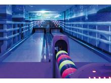 Bowling mit Schwarzlicht