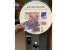 0Euro Geldschein Automat