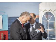 Søren Poulsgaard Jensen, CEO Scandlines og Thomas Andersen, CEO FAYARD A/S