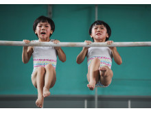 The twins' gymnastics dream