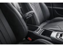 Den rymliga interiören i nya Peugeot 308
