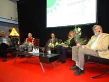 Intressant debatt under invigningen av KlimatCenter
