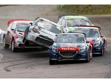 Team Peugeot Hansen körde hem guldet i märkes-VM i Rallycross 2015