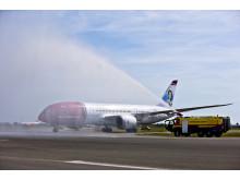 Dreamliner hilses velkommen i CPH