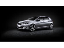 Nya Peugeot 308 - elegant utvändig design
