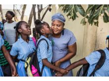 Guylande Mésadieu. Barnrättshjälte från Haiti kan bli Årets barnrättshjälte