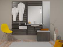 Sys30 Flex: Das innovative Möbelkonzept von burgbad in jungem, puristischem Design ist für eine flexible Nutzung geschaffen.
