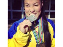 VM-medaljör ger nu föreläsningar om tung träning