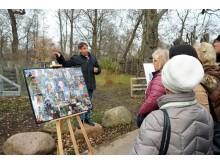 """Thorsten Wolf erläutert die Herausforderungen am Set von """"Tierärztin Dr. Mertens"""" - Foto: Isabell Gradinger"""