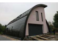 Sanierungspreis 16 Steildach: Umbau einer Lagerhalle zu einem privaten Wohnhaus in Dresden