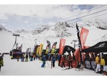 Das 31. SportScheck GletscherTestival startet.