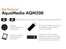 AquaMedia Features.... More
