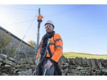 Rural engineer pole