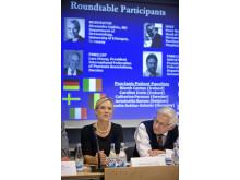 MSD pressmöte i samband med EADV