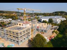 ZÜBLIN Timber, Start Holzbau-Arbeiten Uni Witten-Herdecke