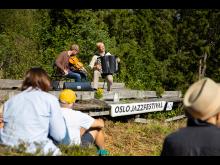 Frode Haltli & Erlend Apneseth i Schrøderbakken 15. aug. 2020