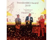 Prisutdelning SwedenBIO Award 2019