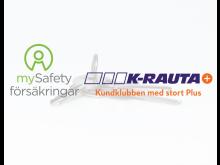 mySafety i samarbete med K-Rauta