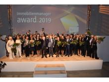 Jede Menge Sieger: Alle Preisträger des immobilienmanager-Award 2019 und die Partner der einzelnen Kategorie