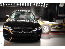 BMW 3 Series side crash test October 2019