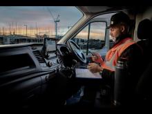 Fords varebiler får tilkoblede features som standard