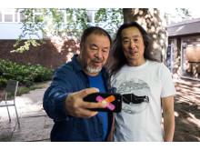 Författarscenen: Ai Weiwei och Yang Lian