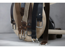5776 Leather belt 28mm & 5779 Textile belt w. leather