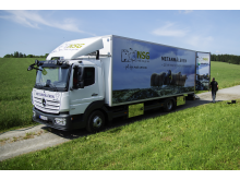 Metanmåleren - lstebilen som skal kjøre Norge rundt