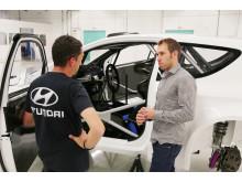 Chris Atkinson - testfører Hyundai Motorsport
