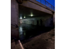 Dalaplans gångtunnel i Malmö utsedd till Sveriges läskigaste plats.