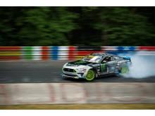 Ford Mustang RTR Nürburgring drift