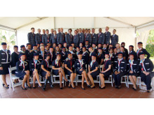 Norwegian's Fort Lauderdale Cabin Crew at Graduation