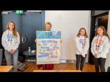 Ungdommens 12 kostråd overlevert til Erna Solberg