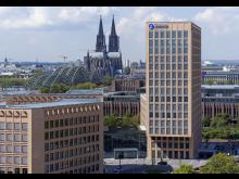Die Zurich Direktion an der Messe Cits in Köln Deutz.