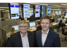 Mikael Holmström och Kristoffer Örstadius, nominerade till Stora Journalistpriset 2017