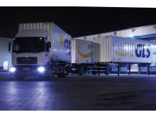 GLS - Linehaul flytter pakker om natten