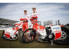 Andreas Jonsson (t.v.) och Jakob Thorsell