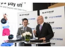 MRO Asia signing between Satair & Pratt & Whtiney